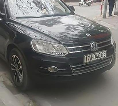 Cần bán xe Zotye T600 S 2.0 AT sản xuất năm 2015, màu đen, xe nhập chính chủ, 369tr