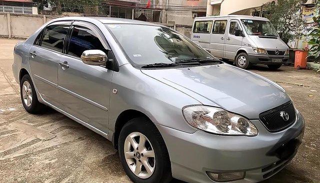Bán Toyota Corolla altis 1.8G MT 2001, màu bạc