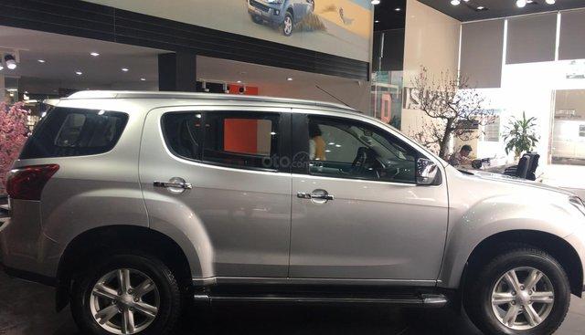 Bán xe Isuzu mu-X 3.0 AT 2016, màu bạc, xe nhập Thái Lan, giá giảm còn có 795 triệu