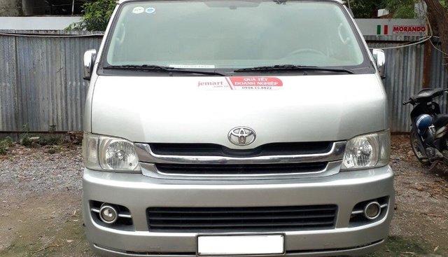 Bán Toyota Hiace Supper Wagon 10 chỗ- máy xăng- 2009