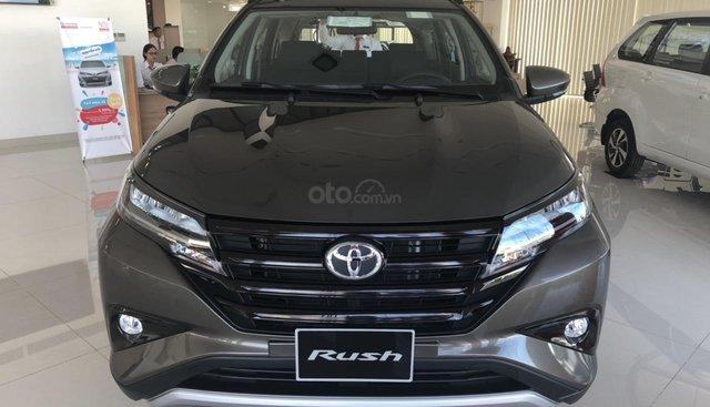 Bán xe Toyota Rush 1.5G màu đồng, nhập khẩu, hỗ trợ vay 85% thanh toán 200tr nhận xe ngay