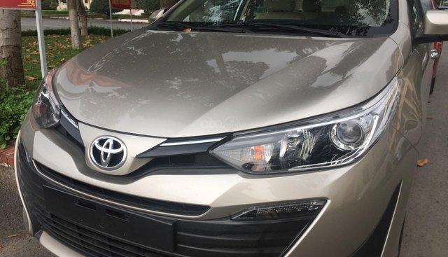 Bán Toyota Vios 1.5G AT 2019, Đủ màu - Giao ngay, KM đặc biệt tháng 07/2019, Hỗ trợ trả góp LS từ 0.33%/tháng