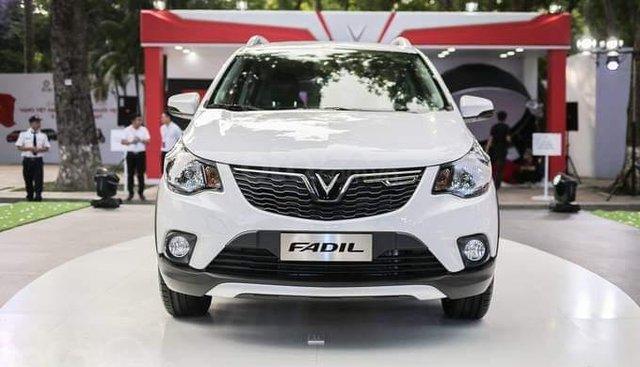 Bán ô tô VinFast Fadil đời 2019, màu trắng, hỗ trợ vay ngân hàng