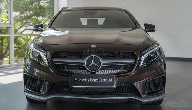 Bán Mercedes GLA45 cũ 2018 AMG, lướt 400 km, nhập khẩu chính hãng