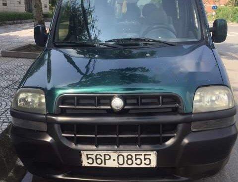 Bán xe Fiat Doblo sản xuất năm 2004, màu xanh dưa