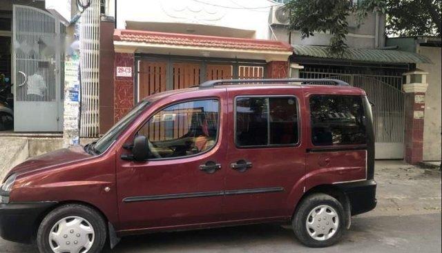 Cần bán gấp Fiat Doblo sản xuất năm 2003, màu đỏ