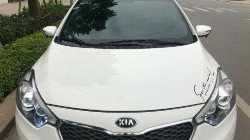Bán Kia K3 2.0 AT đời 2014, màu trắng, giá chỉ 535 triệu