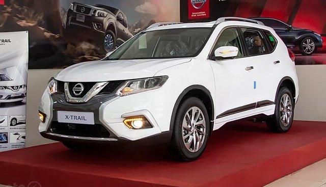 Bán Nissan X trail V Series 2.0 SL Luxury 2018, màu trắng, giá chỉ 940 triệu