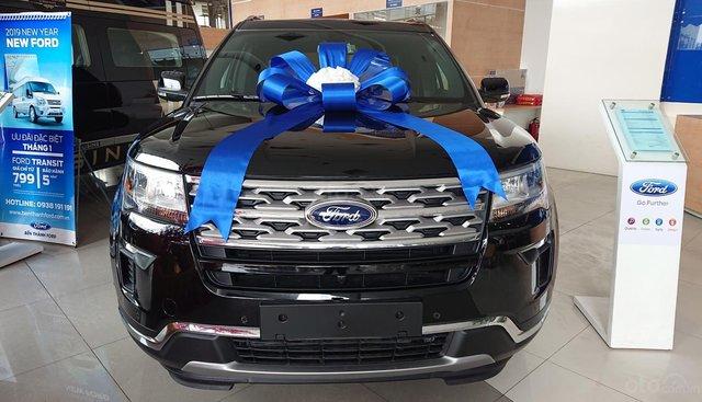Ford Explorer 2018 - đẳng cấp doanh nhân, trang bị hàng đầu phân khúc