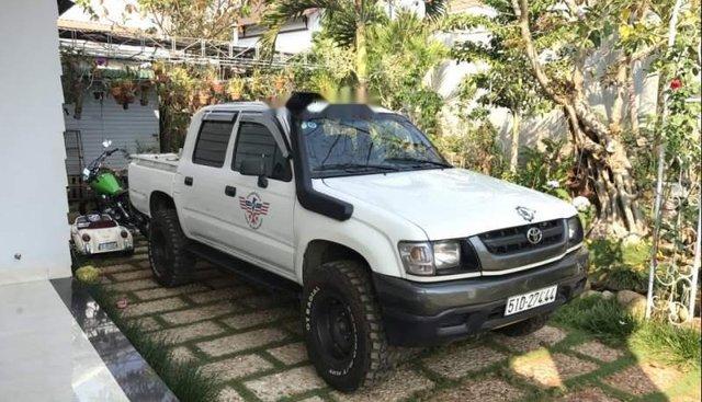 Bán Toyota Hilux sản xuất 2001, màu trắng, nhập khẩu