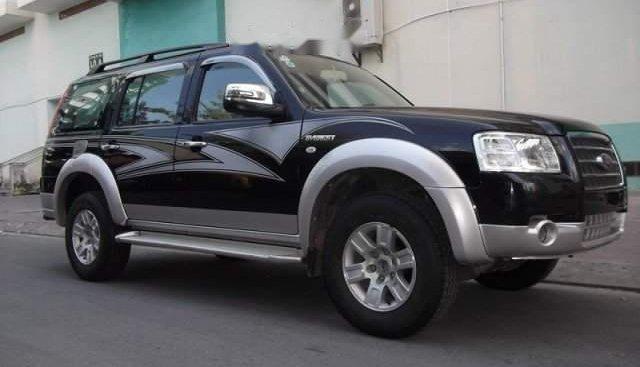 Bán Ford Everest năm sản xuất 2008, màu đen chính chủ, 320 triệu