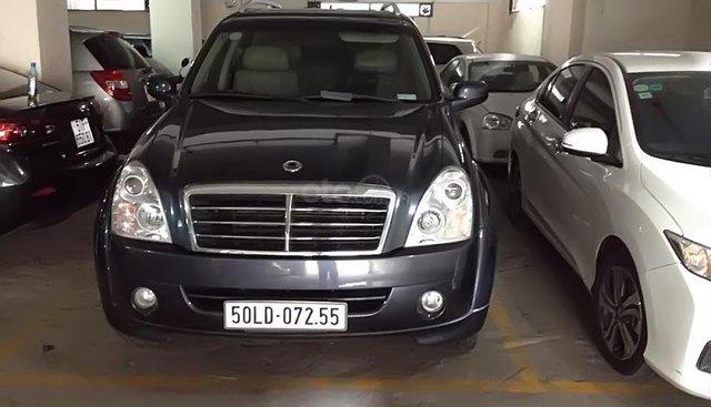 Bán xe Sangyong Rexton 2008 số sàn, 7 chỗ máy dầu, nhập khẩu, xe đẹp, sang trọng