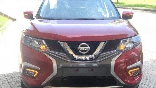 Bán Nissan X trail 2.5 AT sản xuất 2018, màu đỏ, mới 100%