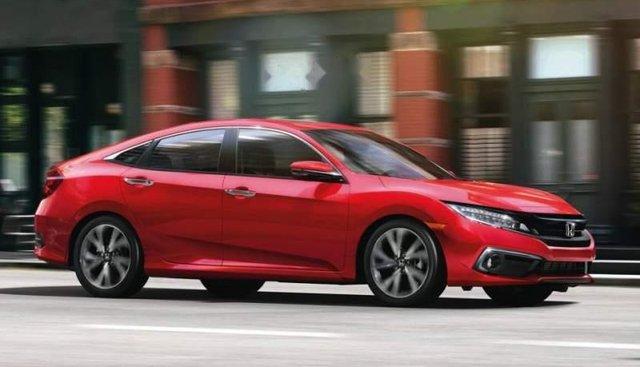 Bán xe Honda Civic 2019, màu đỏ, nhập khẩu nguyên chiếc