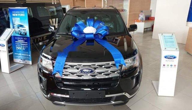 Bán Ford Explorer 2018, màu đen, nhập khẩu