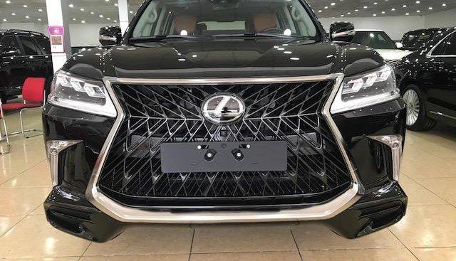 Viet Auto có Lexus LX570 MBS 4 ghế Vip 2019, màu đen, nội thất nâu da bò. Giao ngay, LH 0904927272