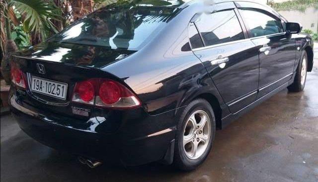 Cần bán Honda Civic đời 2008, màu đen, nhập khẩu