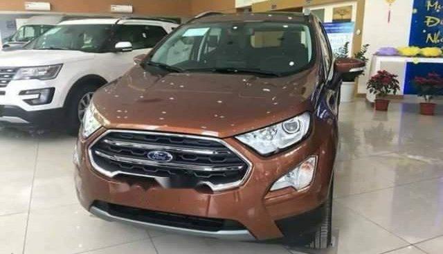 Bán Ford EcoSport Titanium 2018, màu nâu, nhập khẩu
