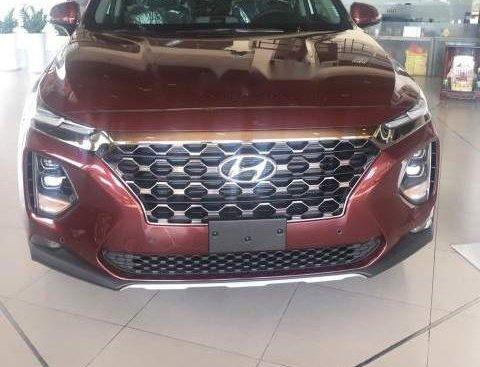 Bán Hyundai Santa Fe năm 2019, màu đỏ