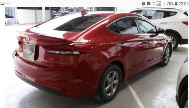 Cần bán lại xe Hyundai Elantra MT năm 2017, màu đỏ, nhập khẩu
