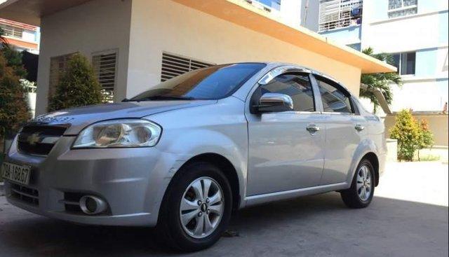 Bán Chevrolet Aveo đời 2011, màu bạc, xe nhập, giá tốt