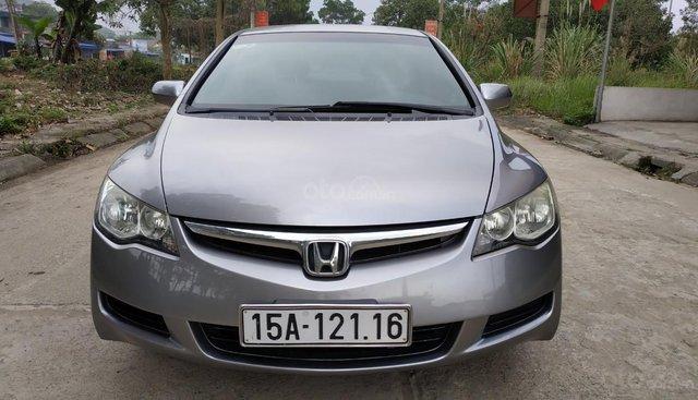 Cần bán Honda Civic 1.8 MT năm 2006, màu xám