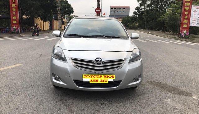 Bán Toyota Vios 1.5 E đời 2013, màu bạc, 380 triệu. Nói không với Limo taxi