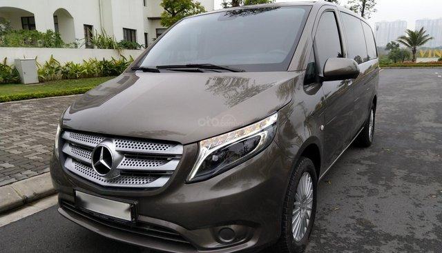 Cần bán Mercedes Vito 2018, màu xám (ghi), nhập khẩu nguyên chiếc