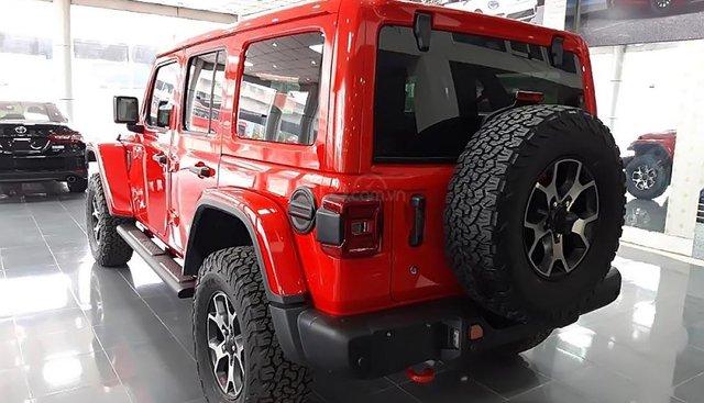 Bán xe Jeep Wrangler Robicon đời 2018, màu đỏ, nhập khẩu
