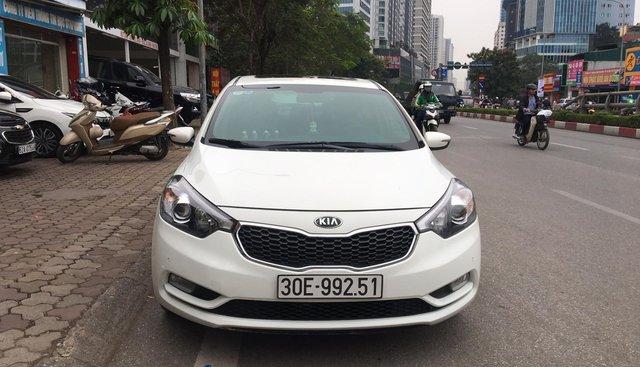 Bán Kia K3 1.6AT sản xuất 2015, màu trắng, 545 triệu