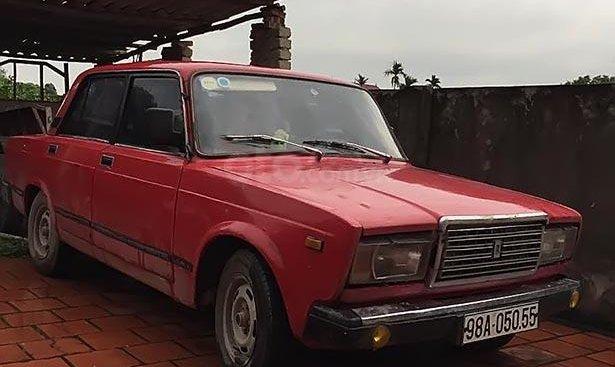 Bán Lada 2107 1990, màu đỏ, nội thất đẹp