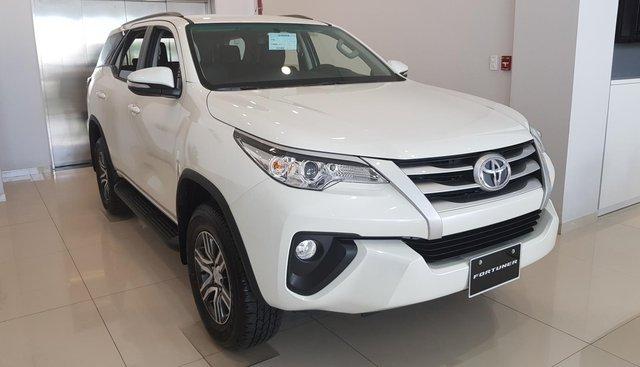 Bán xe Toyota Fortuner 2019 bản G, màu trắng, giao xe ngay tại Toyota Tây Ninh