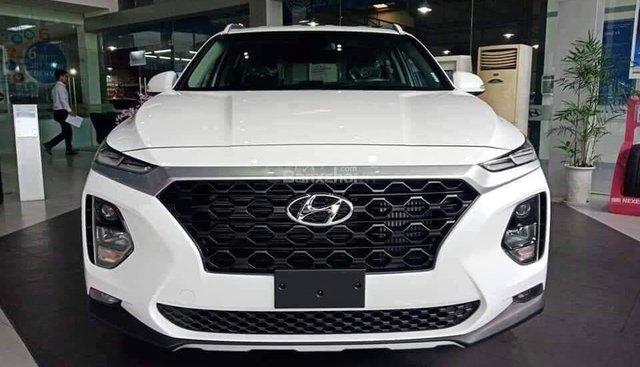 Bán xe Hyundai Santa Fe 2019 màu trắng