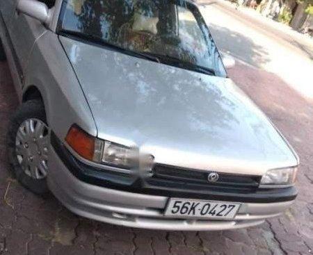 Bán xe Mazda 323F 1995, màu bạc, giá 50tr
