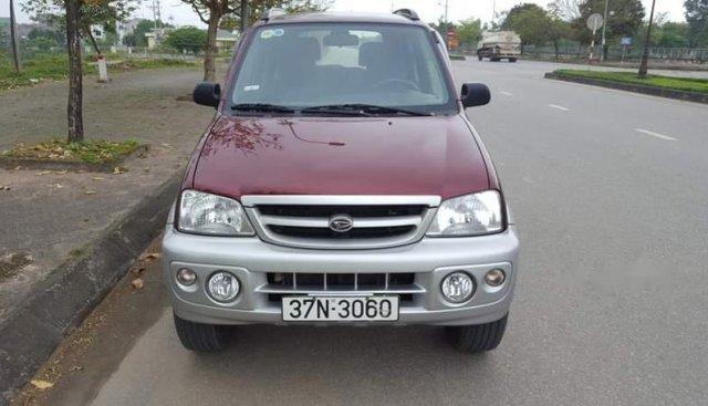 Cần bán gấp Daihatsu Terios 1.3MT đời 2005, màu đỏ, xe nhập