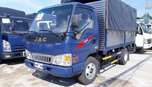 Bán xe máy Isuzu 2t4 thùng 4.4 mét xe mới lắp ráp tại NM JAC Việt Nam