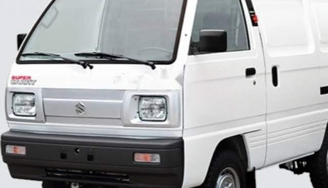 Bán Suzuki Super Carry Van năm 2003, màu trắng, nhập khẩu, đăng kí 2004