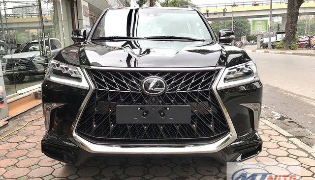 Bán xe Lexus LX570 - 4 chỗ SX 2018, màu đen độ MBS Trung Đông