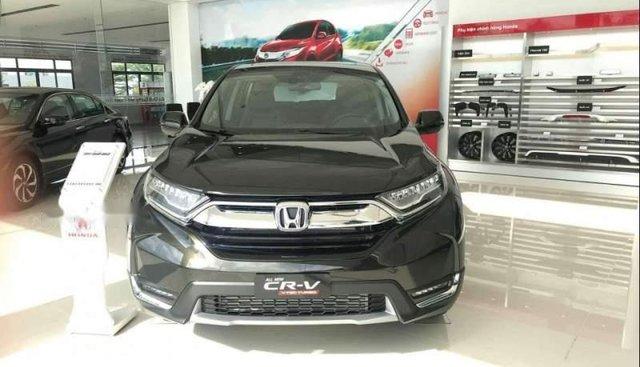 Cần bán Honda CR V đời 2019, màu đen, xe nhập
