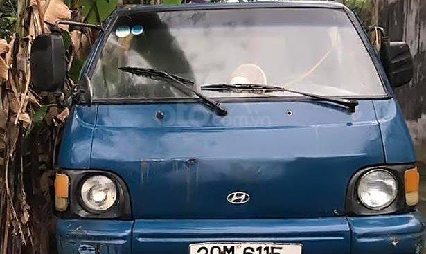 Bán Hyundai Porter 1,25T sản xuất năm 1996, màu xanh lam, xe nhập, 25tr