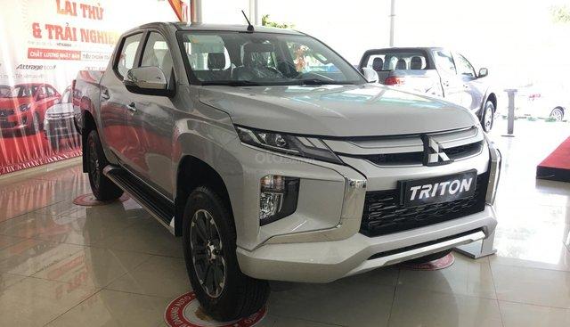 Triton Đà Nẵng, Mitsubishi Triton 2019, màu bạc, nhập khẩu nguyên chiếc, xe giao ngay. Liên hệ 0931911444