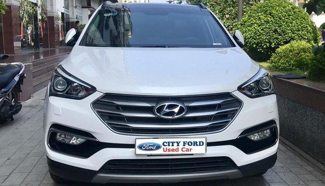 Bán Hyundai Santa Fe 2018 máy dầu bản Full, có trả góp, bảo hành đến 2020
