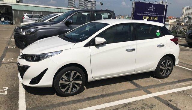 Toyota Tân Cảng bán Yaris 1.5G tự động, giảm tiền mặt, trả trước 140tr giao xe - LH 0933000600