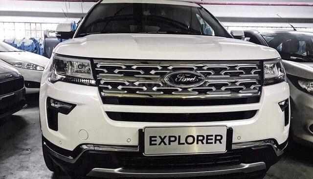 Tặng: BHVC, phim, bệ bước điện, camera, phủ ceramic, xịt gầm, lót sàn khi mua xe Ford Explorer 2019, LH: 091.888.9278