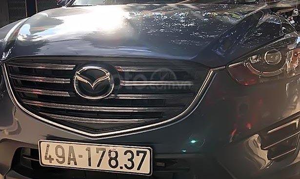 Bán Mazda CX 5 đời 2017, màu xanh lam xe gia đình