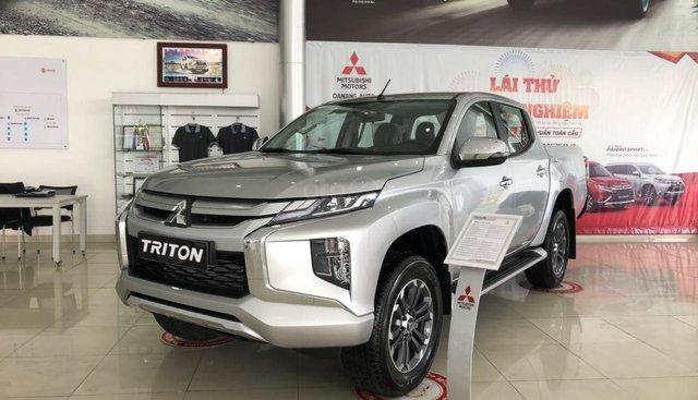 [Siêu hot] Mitsubishi Triton 2019, màu bạc, nhập khẩu Thái, đẳng cấp phân khúc, cho vay 80%. LH: 0905.91.01.99
