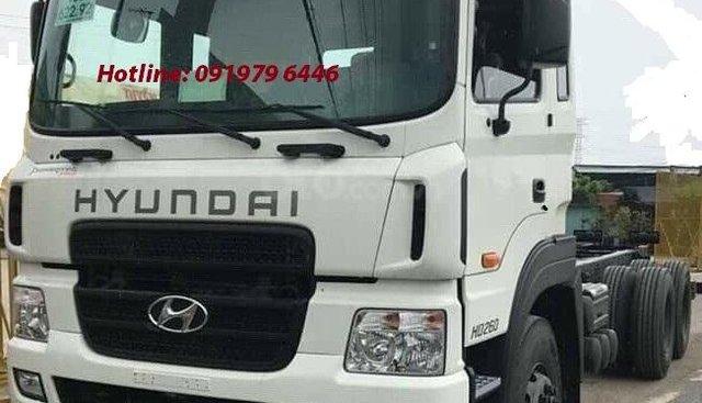 Hyunda HD260 15T thùng bạt- 2019, màu trắng, nhập khẩu nguyên chiếc