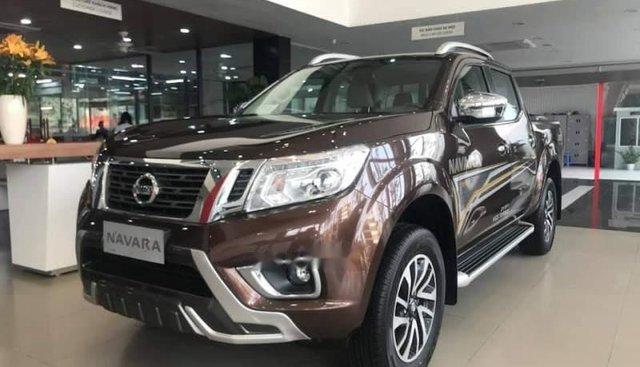 Bán ô tô Nissan Navara năm sản xuất 2018, màu nâu