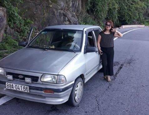 Bán ô tô Kia CD5 đời 2004, màu bạc, giá tốt