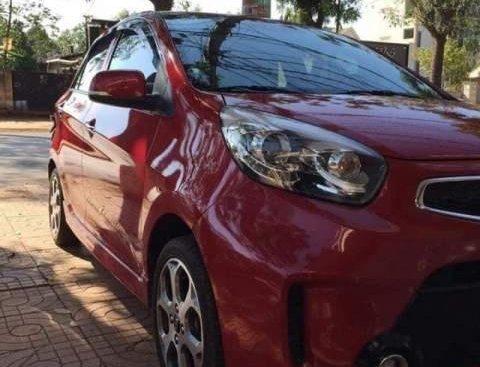 Bán xe Kia Morning đời 2016, màu đỏ, giá tốt